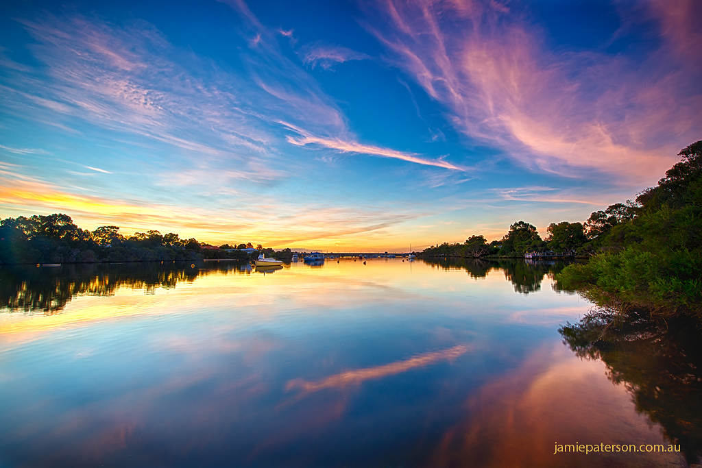 canning river, swan river, australian landscape photography, refletctions