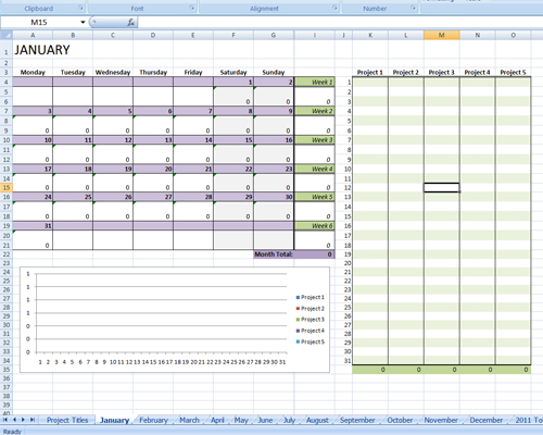 http://jamieraintree.com/2011-writing-progress-spreadsheet/