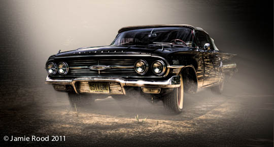 Cheverolet Impala - black