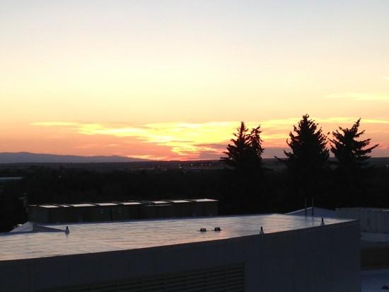Laramie Sunset