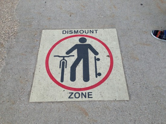 Dismount