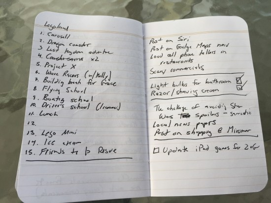 Field Notes pages