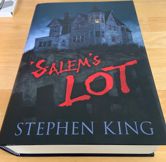 My copy of the Cemetery Dance special edition of Stephen King's 'Salem's Lot