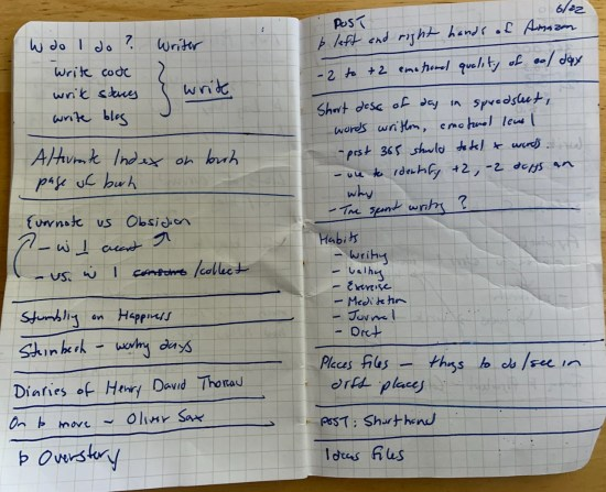 Raw notes I've taken from podcasts