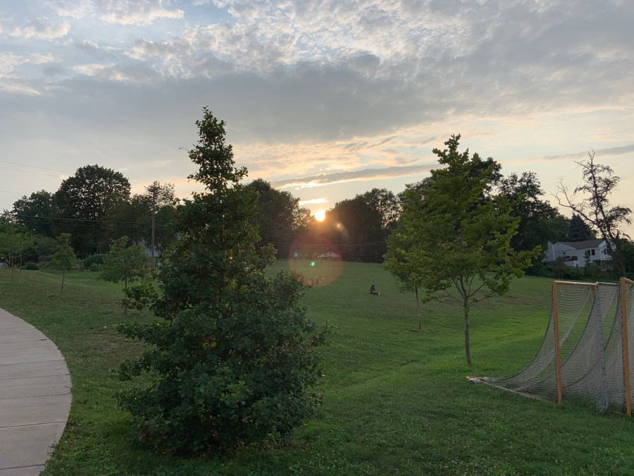 Sunset, northern Virginia, July 18, 2021