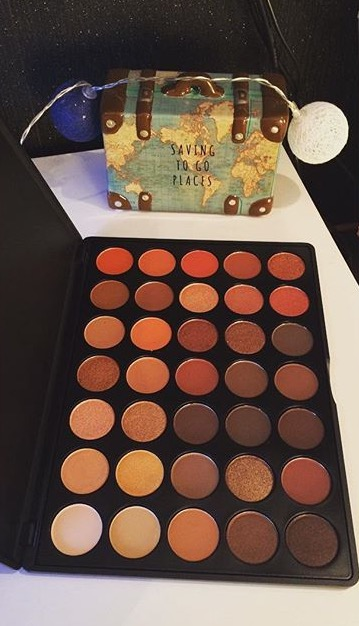 Morphe 350 Dupe {Swatches}