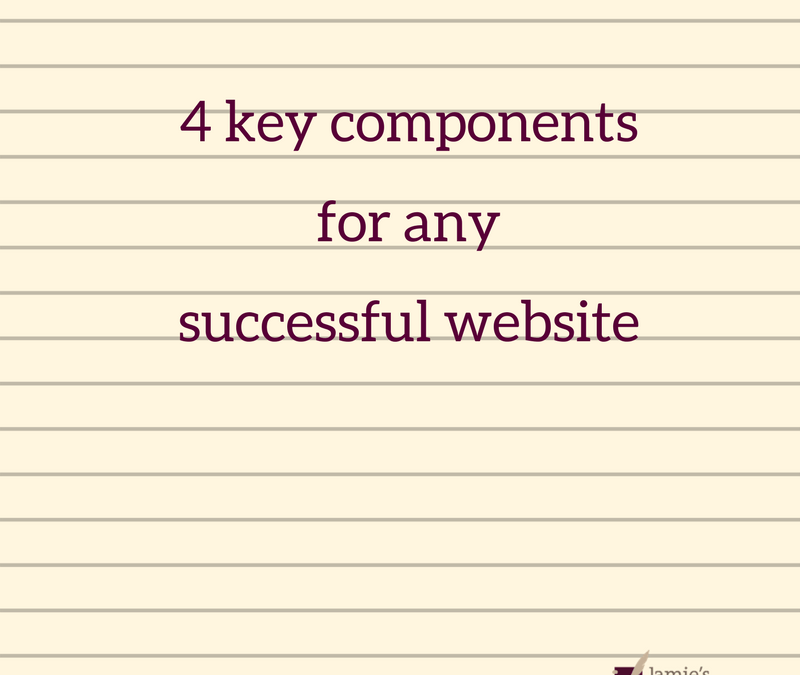 4 key components for any successful website