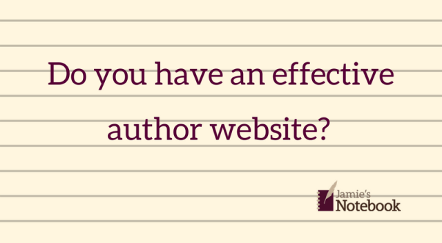 Do you have an effective author website?