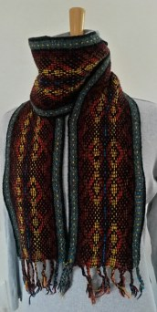 Up Helly Aa scarf by Hadewychs