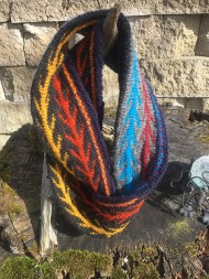 Fire Wind Water Cowl by kyspinner