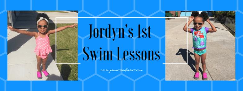 Jordyn's 1st Swim Lessons