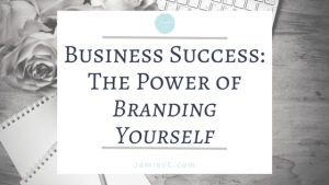 Business success: The power of branding yourself – Personal branding is just as important as business branding. In order to succeed, you must create a consistent message of who you are and why people should purchase your work.