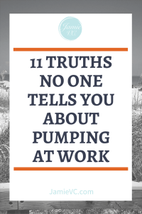 Are you a new mother who will be pumping milk when you return to the office? Be prepared for your journey by learning the 11 truths no one tells you about pumping at work.
