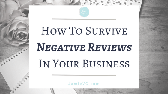 How to Survive Negative Reviews in Your Business