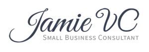 JamieVC Small Business Consultant Short Logo