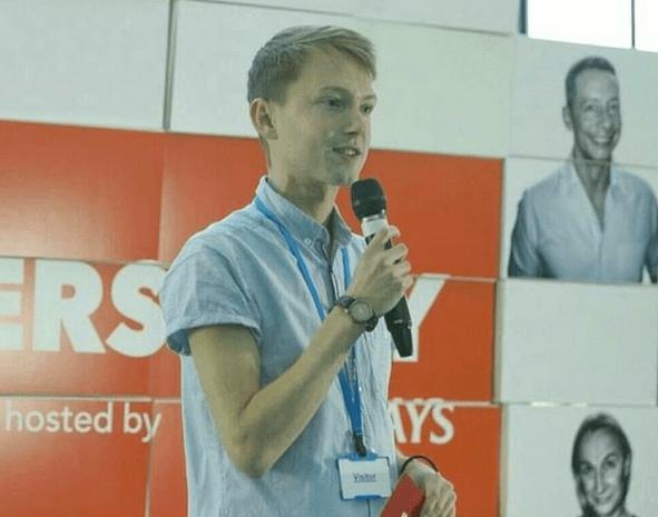 Jamie Wareham journalist podcast digital content producer queeraf lgbt