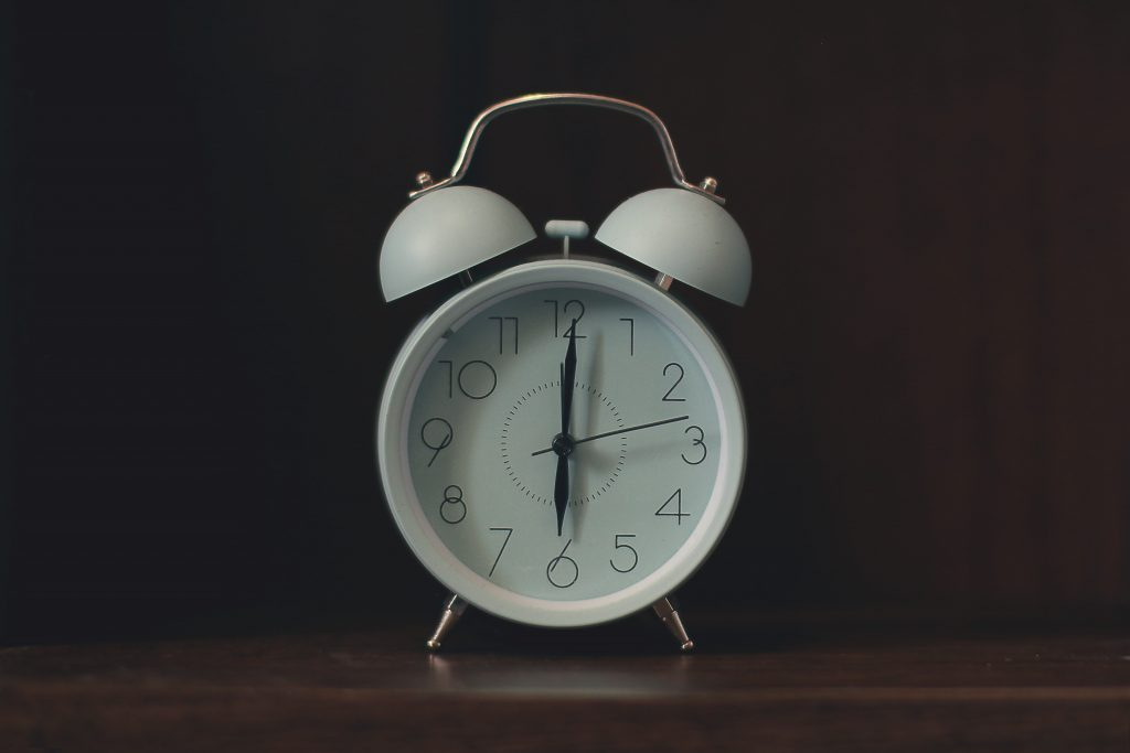 image of a clock - now is your time symbol