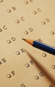 Multiple choice questionnaire