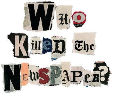 ¿Quién mató a la prensa? Nadie amigos, nadie.