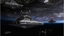 Star Destroyers near Coruscant
