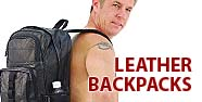 Leather Backpacks Featured by Jamin' Leather
