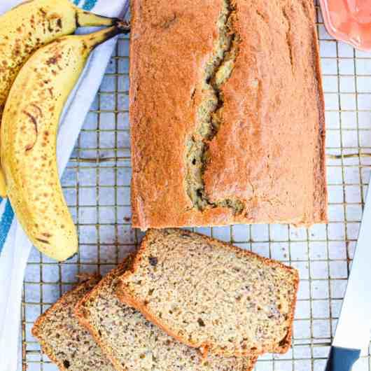 Simply Delicious Banana Bread