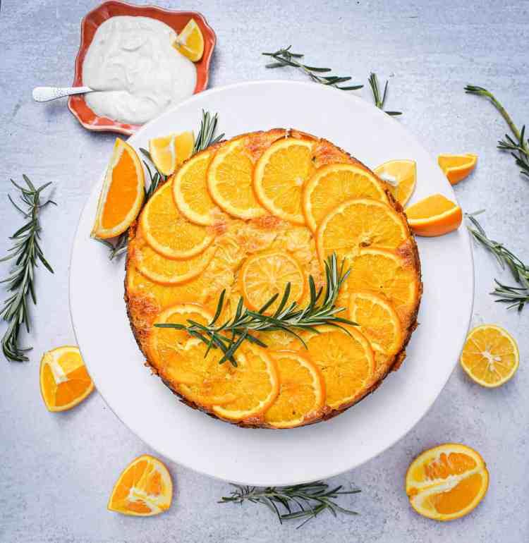 Meyer Lemon & Orange Olive Oil Cake