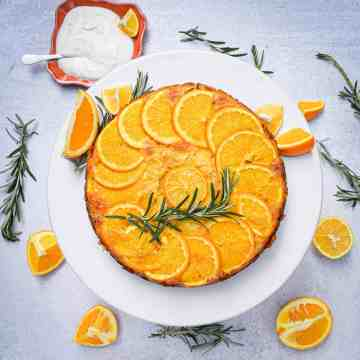Meyer Lemon & Orange Olive Oil Cake