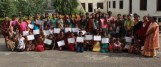 50 adolescent girls graduated from CRHP's Adolescent Girl's Program.