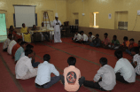 Boys in the Adolescent Boys Program have a group discussion.