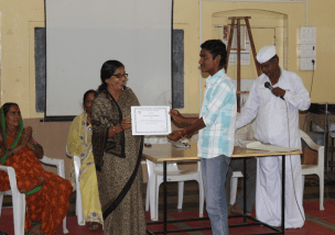 21 adolescent boys graduated from CRHP's Adolescent Boys Program in 2015.