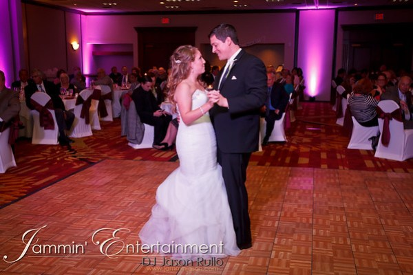 Meghan and Joe, sharing their first dance at the Marriott in Cranberry - DJ Jason Rullo