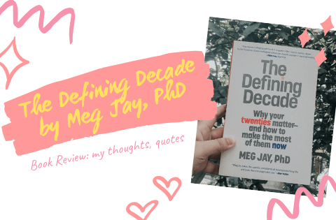the defining decade by meg jay book review