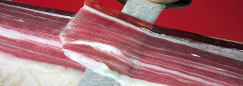 THE PERFECT SLICE OF IBERIAN PATA NEGRA HAM