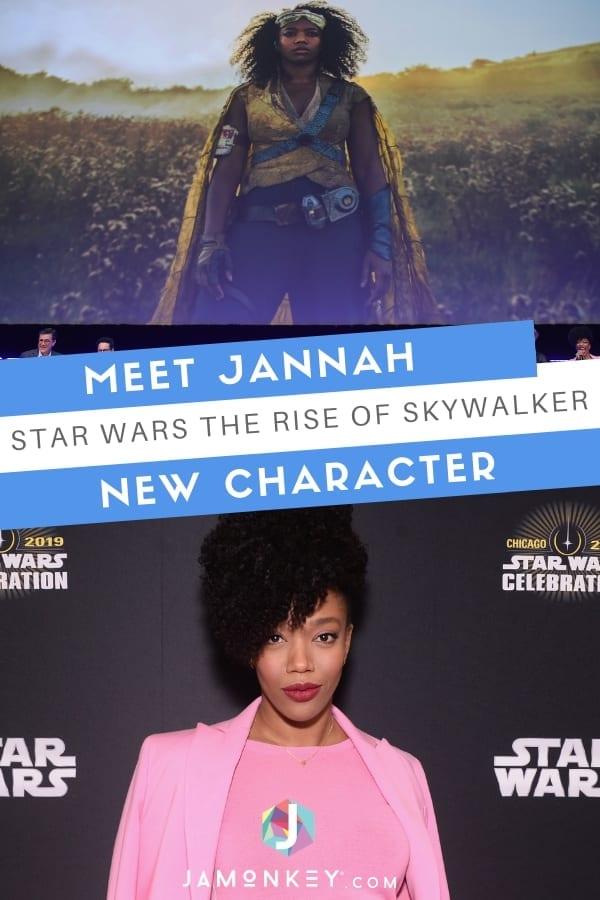 Meet Jannah the new Star Wars The Rise of Skywalker ...