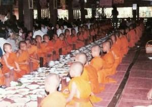 novice-monks Novice monks