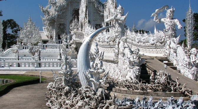 Who created The White Temple of Chiang Rai ?