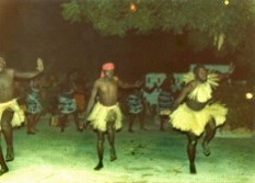 Dancers - Gambia 1979