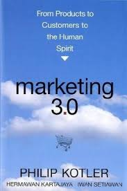 Marketing 3.0 book jacket