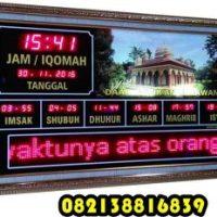 Jam Jadwal Sholat Digital di Jawa Timur