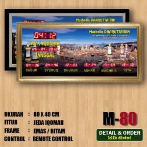 Jual jam digital masjid murah di bekasi selatan