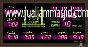 jual-jam-jadwal-sholat-digital masjid murah di tangerang selatan