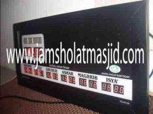 jual jam jadwal sholat digital masjid running text di monas Jakarta
