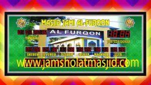 harga jam digital masjid di depok timur