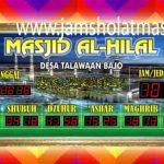 harga jam digital masjid di tangerang pusat