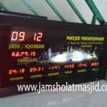 penjual jam jadwal sholat digital masjid running text di cikampek selatan