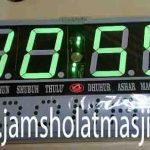 penjual jam jadwal sholat digital masjid running text di cikarang utara