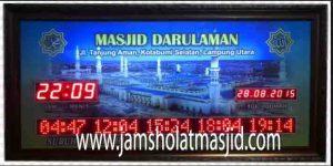 jual jadwal sholat digital bagus untuk masjid bekasi timur