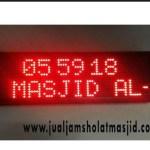 jam digital sholat masjid di jababeka