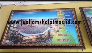 menjual jam jadwal sholat digital masjid running text di tangerang barat
